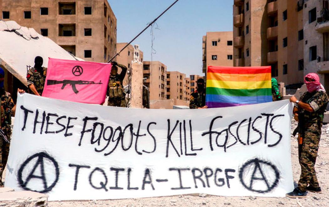 Crean un ejército LGTBI para luchar contra el Daesh en Siria