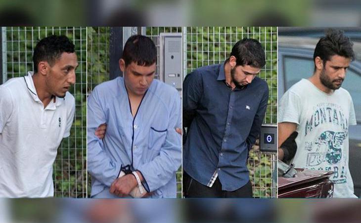 Los terroristas de Barcelona acuden a declarar ante la Audiencia Nacional
