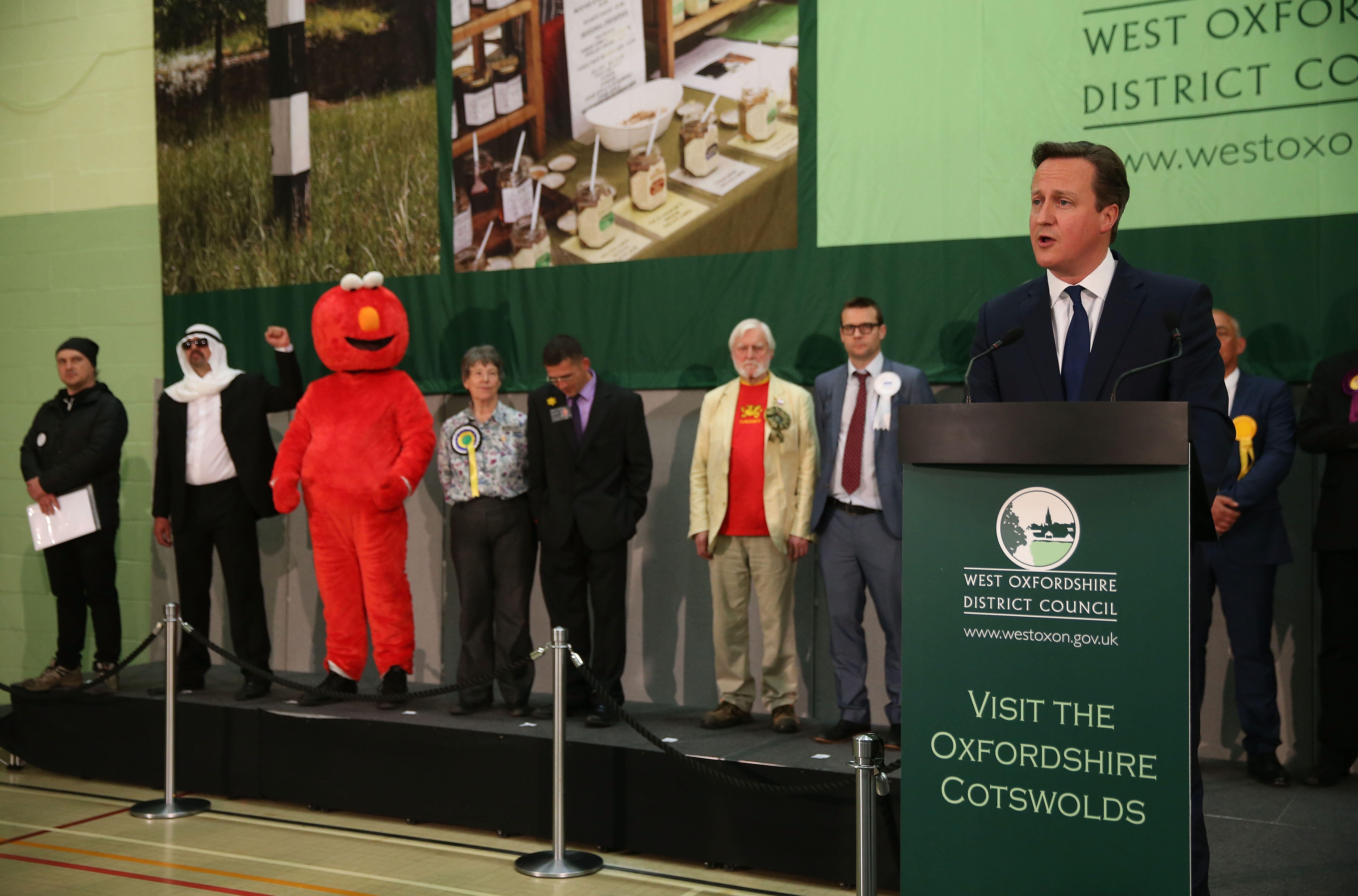La peculiar noche electoral británica