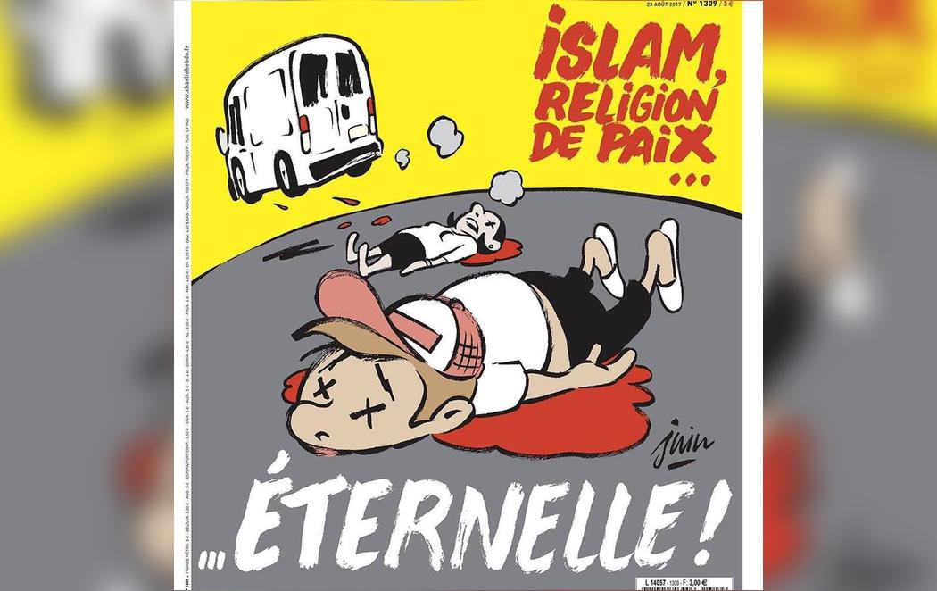 Charlie Hebdo dedica una polémica y criticada portada a los atentados de Barcelona