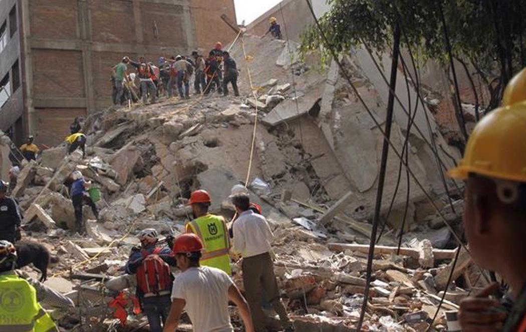 México es azotado por un terremoto de 7,1 grados que deja más de 217 muertos