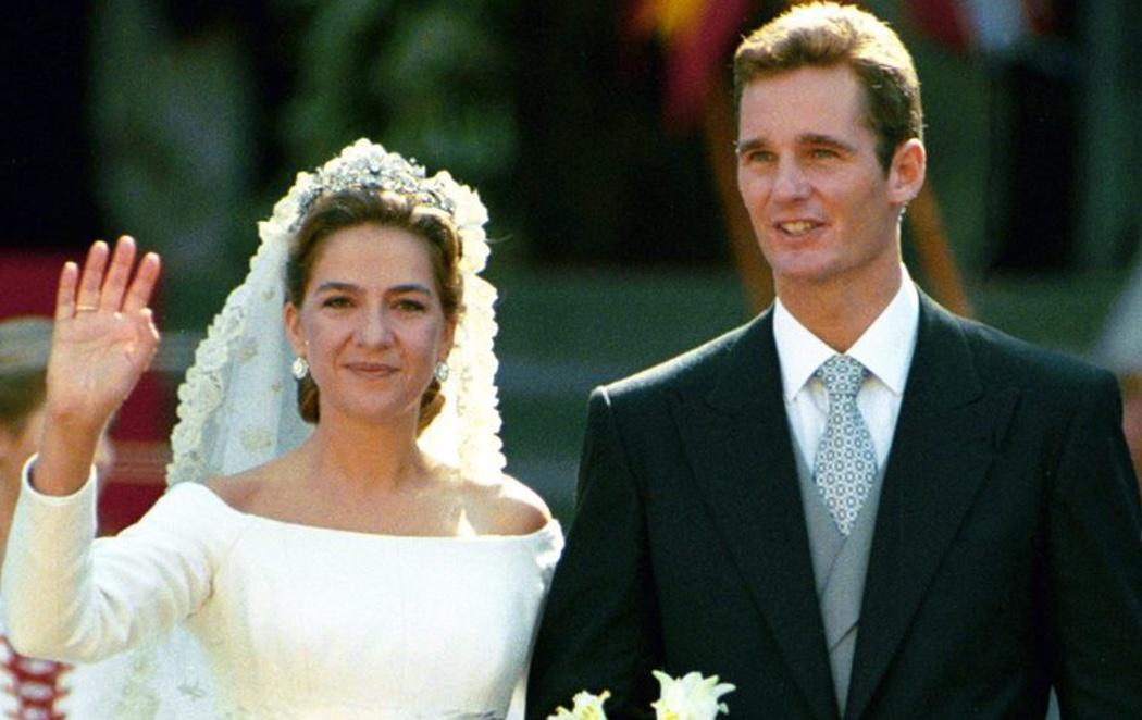 La Infanta Cristina e Iñaki Urdangarin celebran el 20 aniversario de su boda