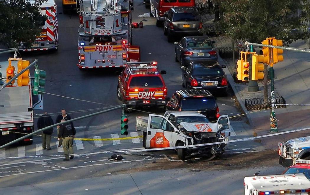 8 muertos en un atropello múltiple en Nueva York