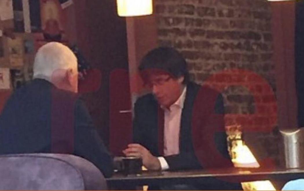 Localizan a Puigdemont en una cafetería de Bruselas cuando debía declarar ante la Audiencia Nacional