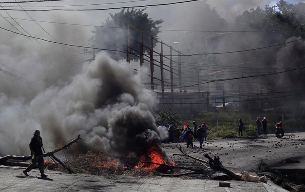 """7 muertos en Honduras en las protestas contra el """"fraude electoral"""""""