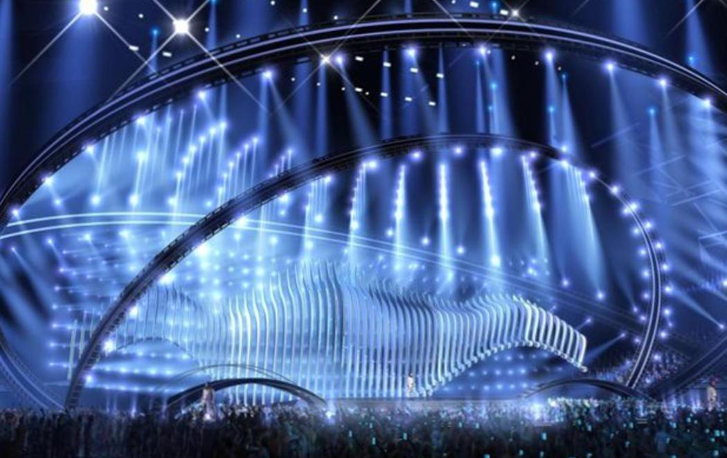 Portugal revela la primera imagen del escenario de Eurovisión 2018