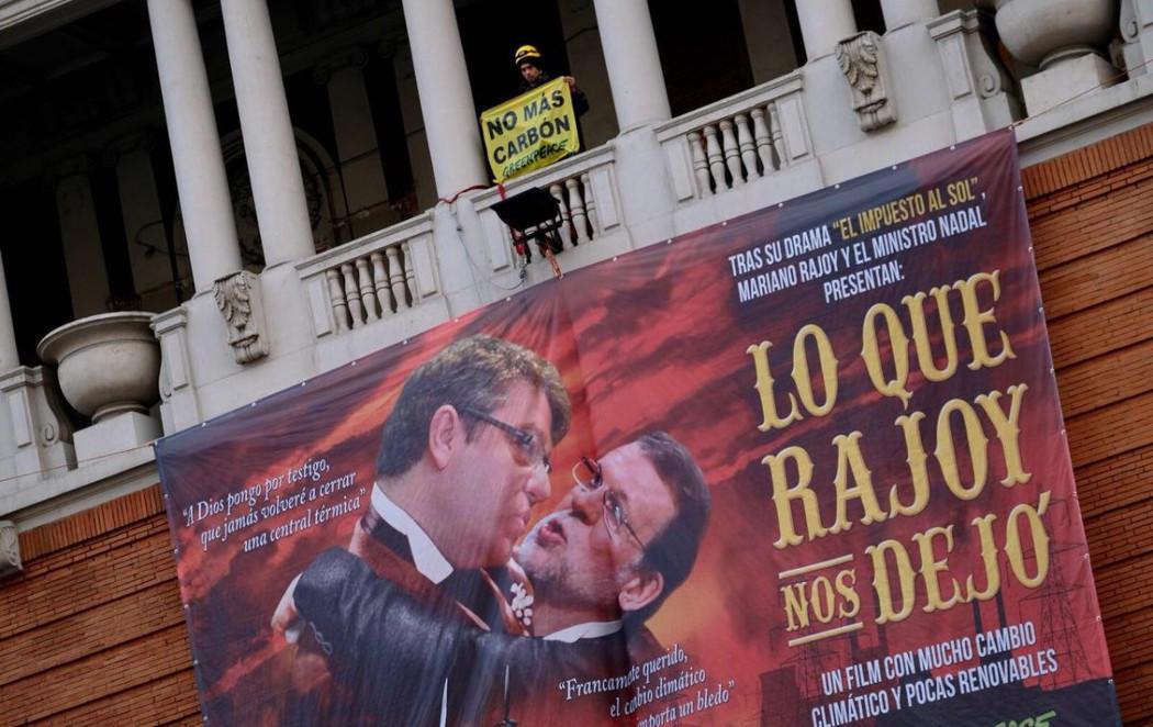 """""""Lo que Rajoy nos dejó"""", la nueva campaña de Greenpeace"""