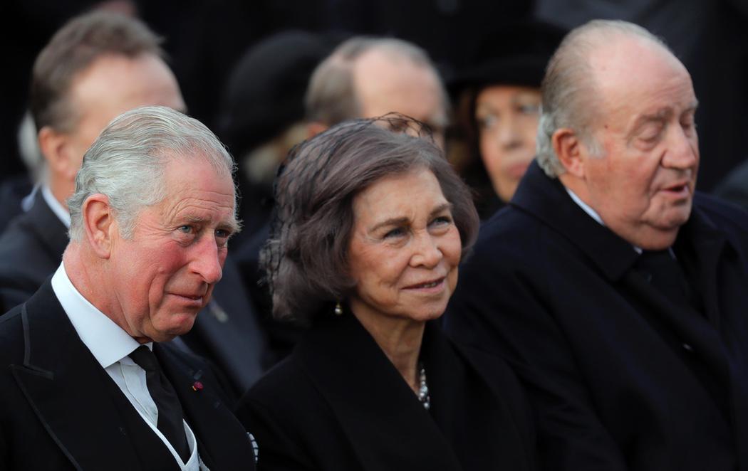 El viaje a Suiza del Rey Juan Carlos y Sofía para despedir a Miguel I de Rumanía