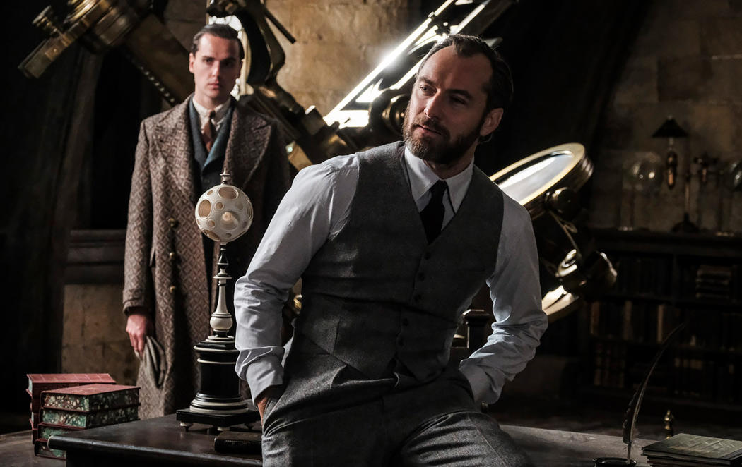 Nueva imagen de Jude Law como Albus Dumbledore en 'Animales fantásticos'