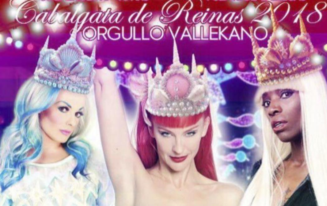 Una Reina Maga travesti para la Cabalgata de Reyes de Madrid
