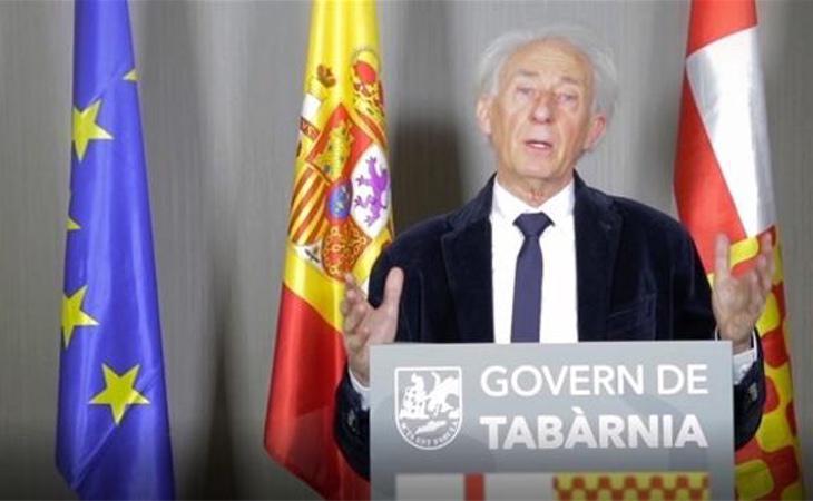 Albert Boadella se erige como presidente de Tabarnia en el exilio