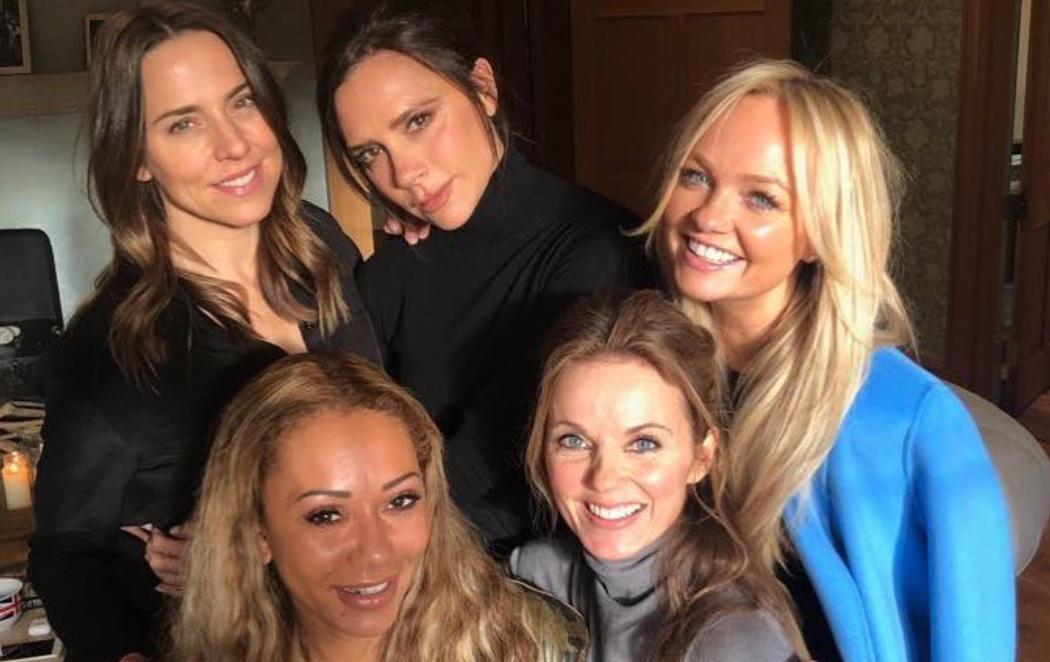 El nuevo reencuentro de las Spice Girls desata la locura