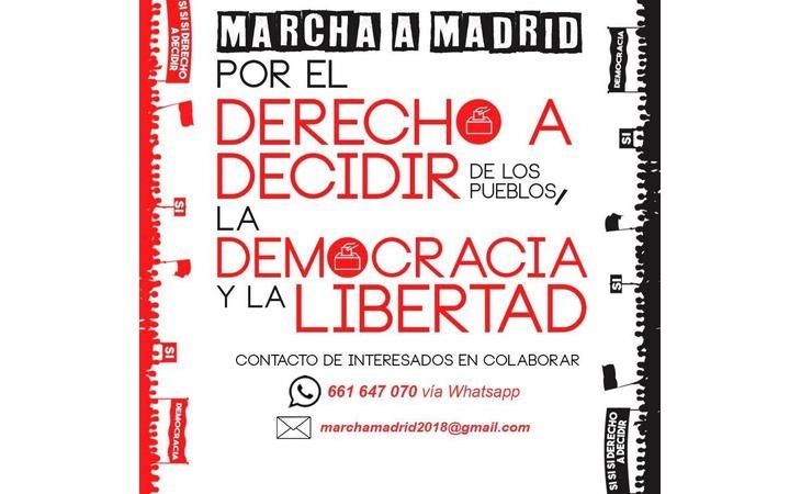 """Los independentistas andaluces convocan una manifestación en Madrid por el """"derecho a decidir"""""""