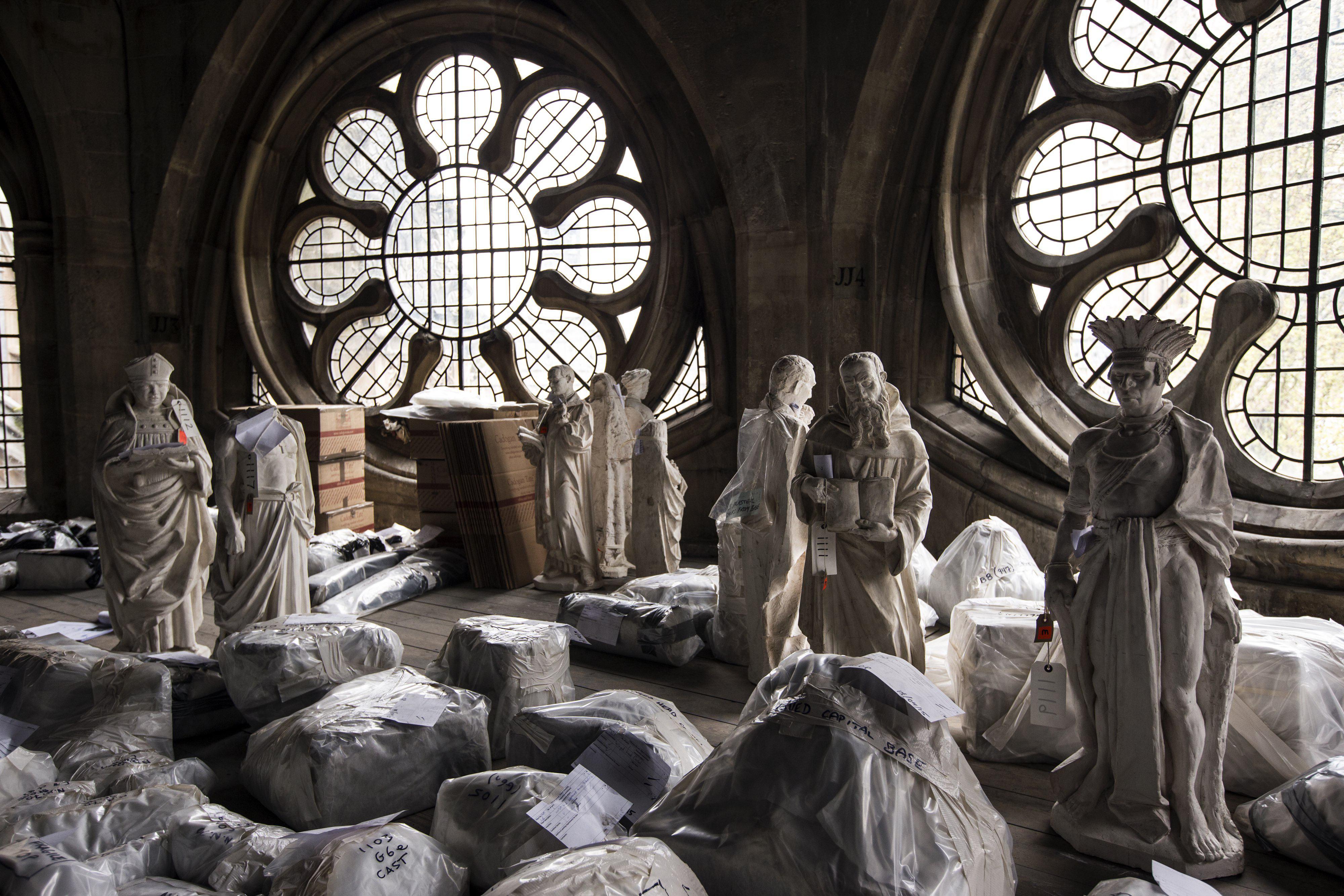 La Abadía de Westminster, en obras