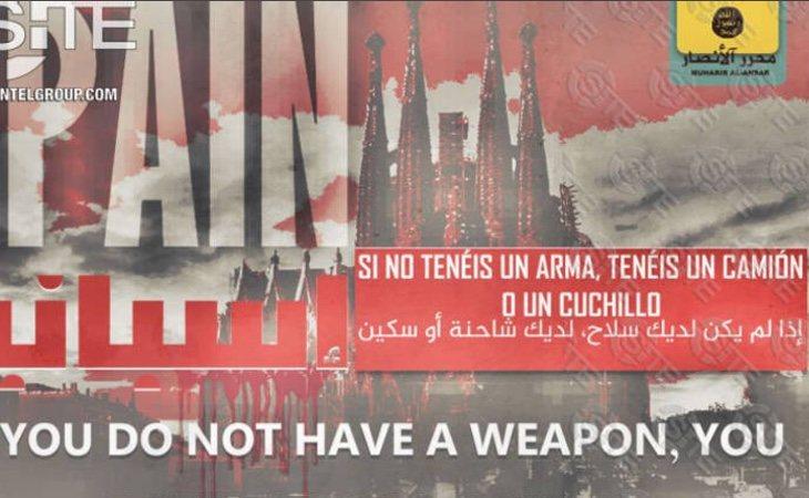 El Daesh vuelve a señalar Barcelona como centro de futuros atentados