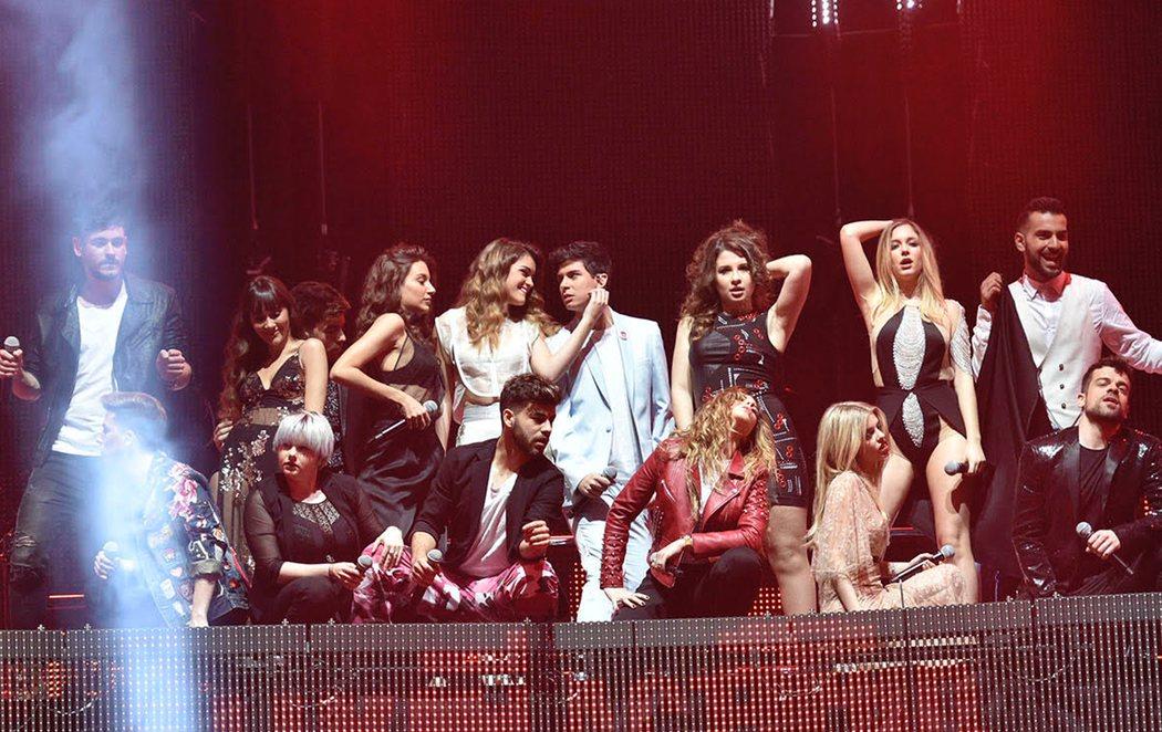 Arranca la gira de 'OT 2017' con un espectacular concierto en Barcelona