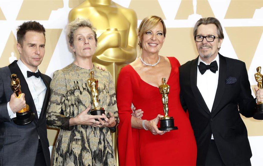 Los grandes triunfadores de los Oscar 2018