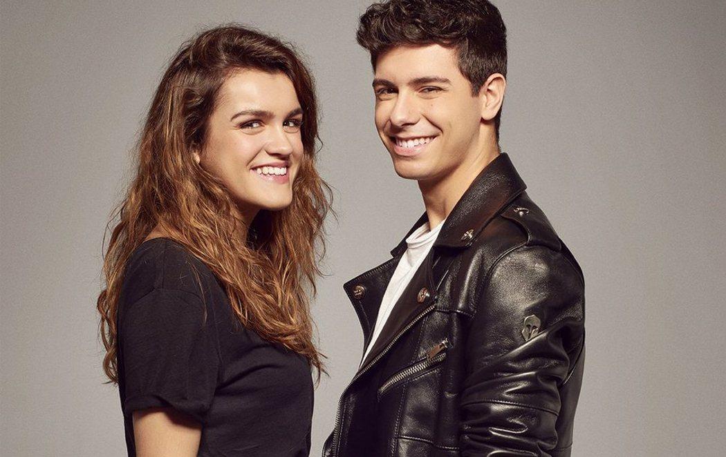Posado oficial de Amaia y Alfred para Eurovisión 2018