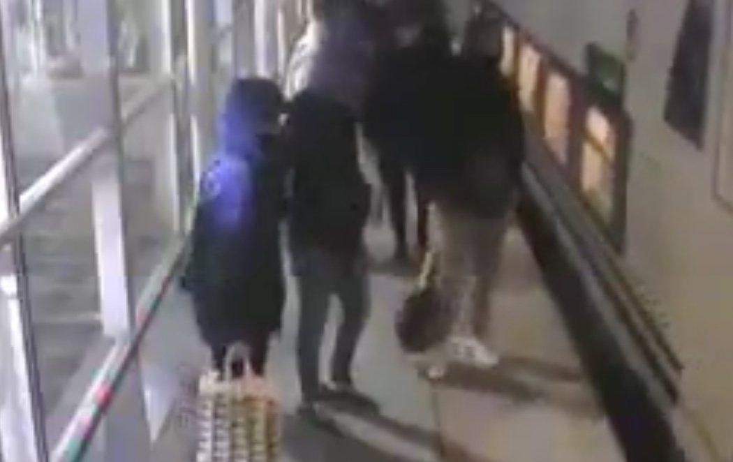 Detenidos los grafiteros que simularon un atentado yihadista en un tren de Madrid