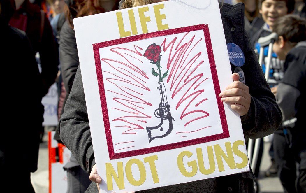 Un millón de personas participan en la protesta contra la armas más multitudinaria de la historia de EEUU