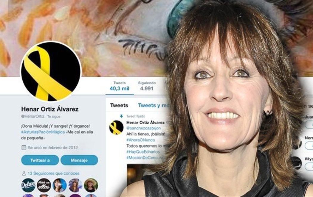 """Henar Ortiz, tía de la reina Letizia, pide libertad para los """"presos políticos"""" independentistas"""