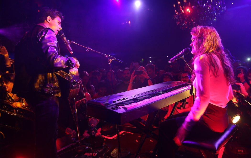 Amaia y Alfred conquistan en la fiesta de Londres de cara a Eurovisión 2018