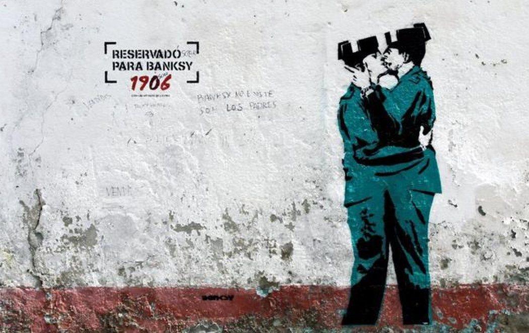 ¿El primer Banksy en España?