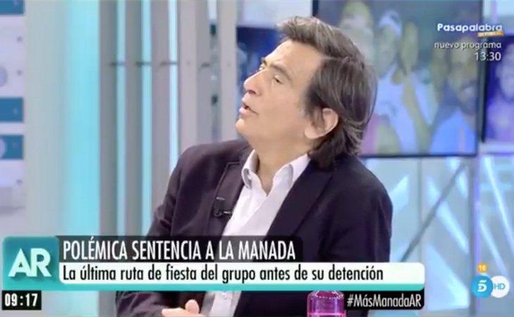 """Arcadi Espada (C's) cuestiona la violación de La Manada: """"¿Hay algún vídeo sobre la vida sexual de la víctima?"""""""