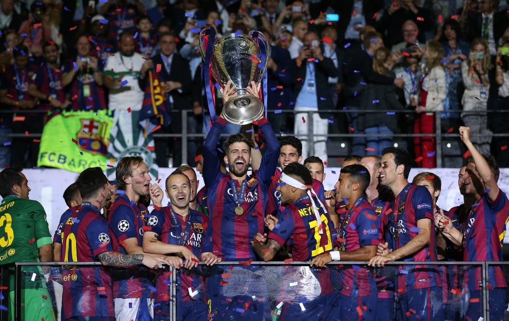 Quinta Champions y triplete