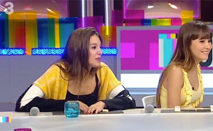 """Aitana War, de amarillo en TV3: """"Haré lo que me salga del higo"""""""