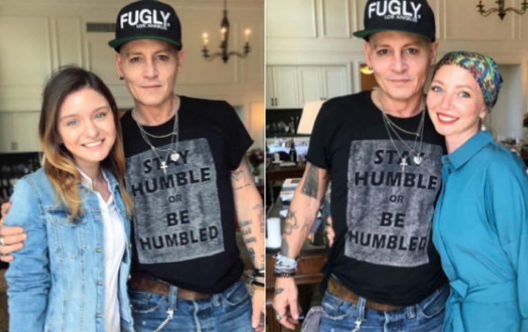 Johnny Depp reaparece con un deteriorado aspecto físico que preocupa a sus fans