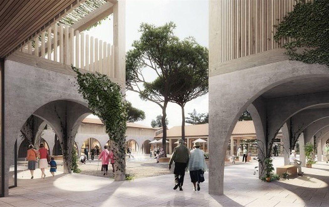 Francia construye un pueblo para los enfermos de Alzheimer