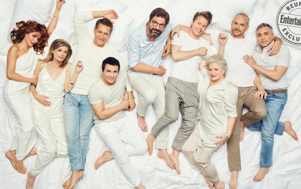 El elenco de 'Queer as Folk' se reúnes 13 años después del final de la serie