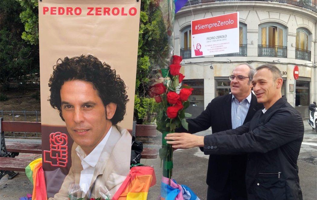 El PSOE homenajea a Pedro Zerolo en el tercer aniversario de su muerte
