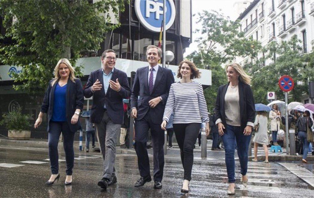 """La nueva era del PP 'PostCifuentes': """"A nosotros nadie nos perdona nada"""""""