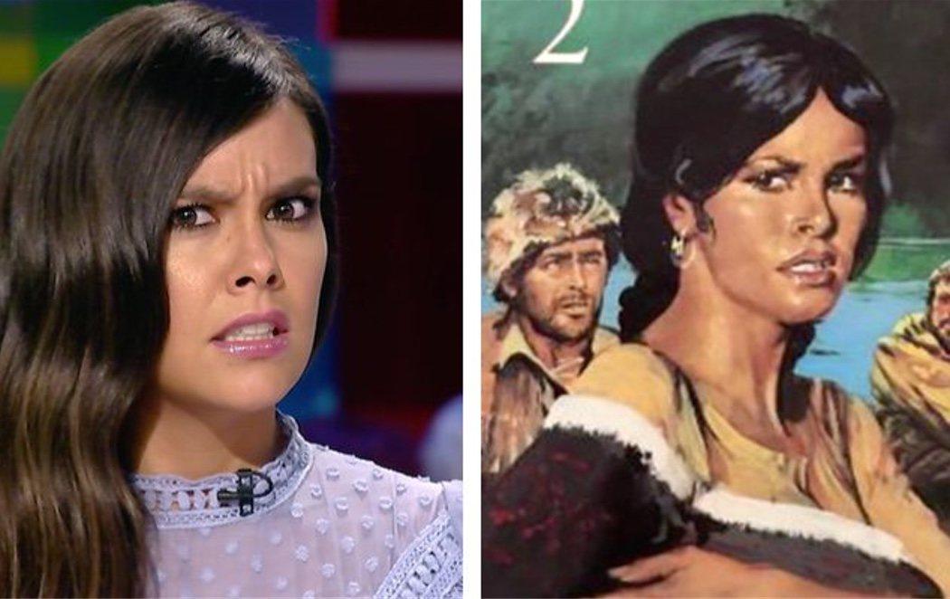 Cristina Pedroche es idéntica a Sacajawea, una indígena que protagoniza un libro indio