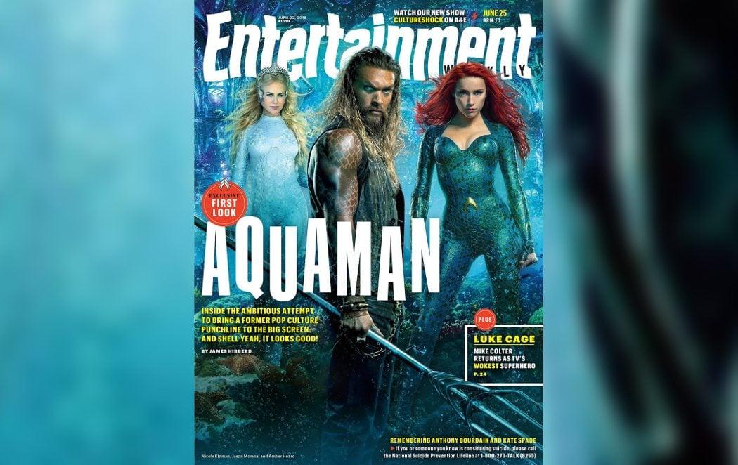 Primera imagen de Nicole Kidman en 'Aquaman'