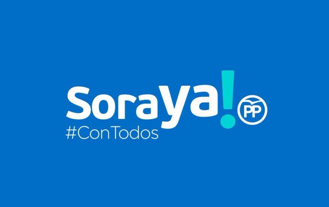 'SoraYa', el lema de campaña de Soraya Sáenz de Santamaría