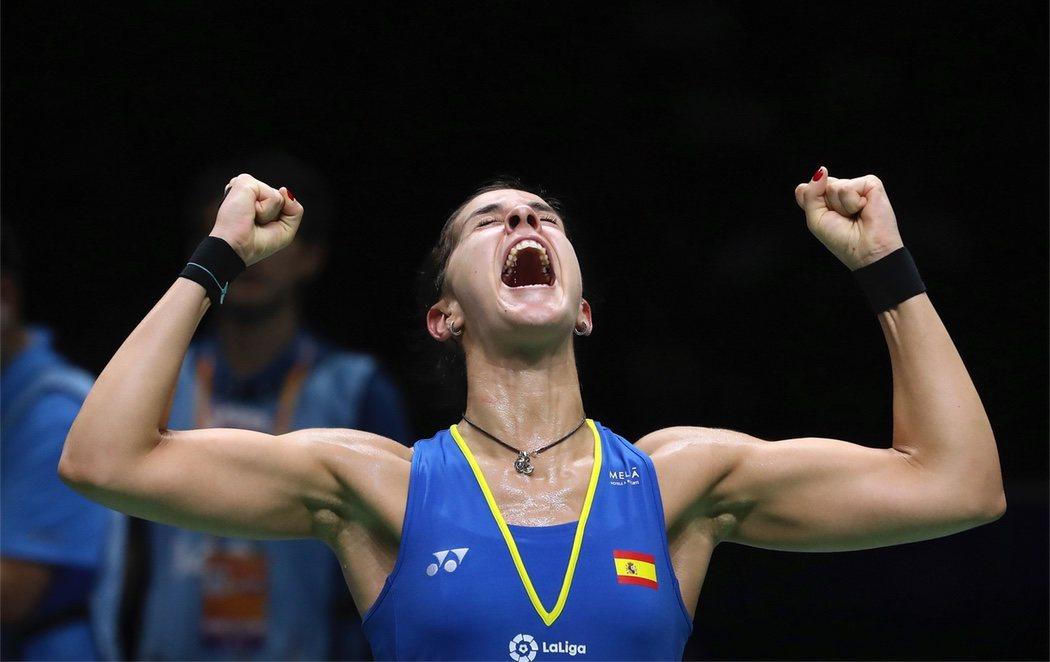 Carolina Marín gana su tercer Mundial de bádminton