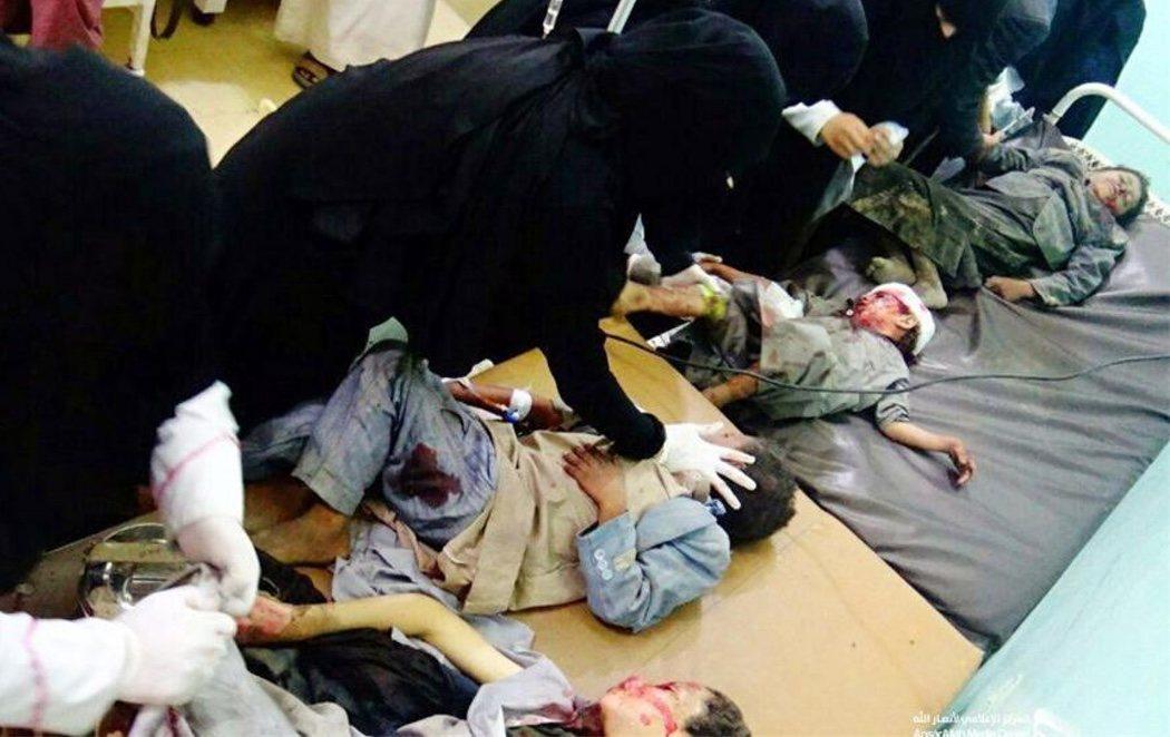 Arabia Saudí bombardea un autobús en Yemen y asesina a 50 personas, entre ellas 29 menores