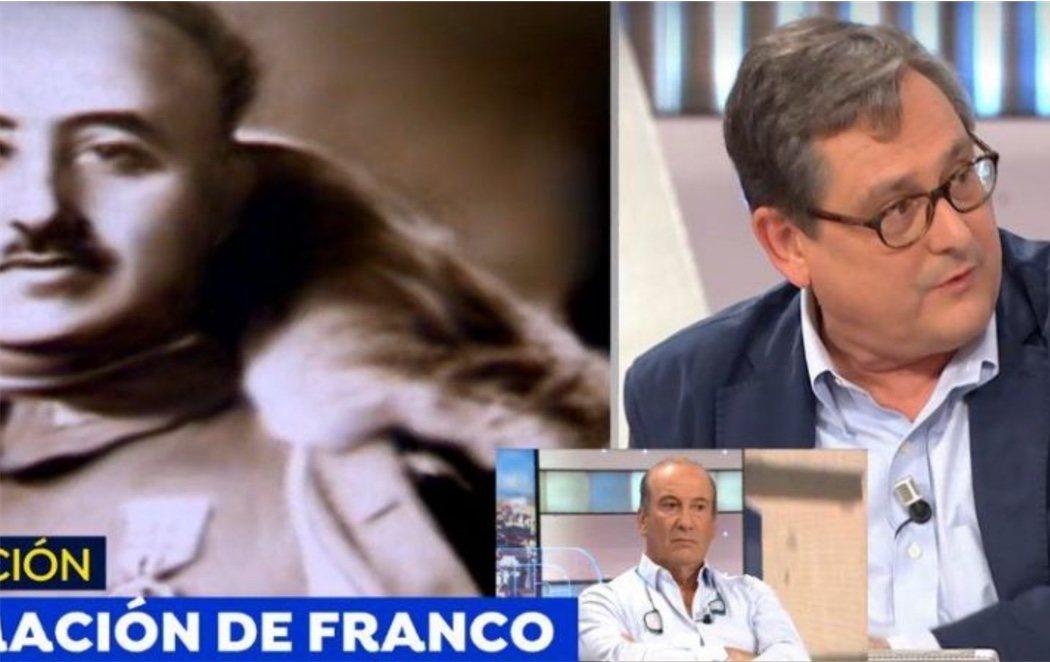 Marhuenda, director de La Razón, asegura que Franco no fue un dictador fascista