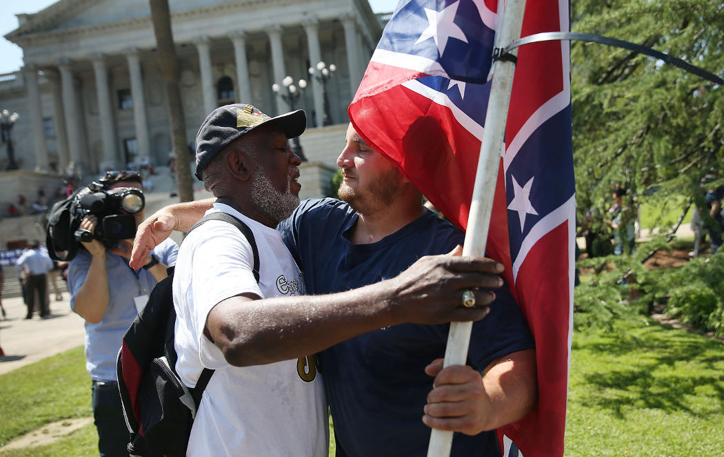 Una bandera que no dividirá más en Carolina del Sur