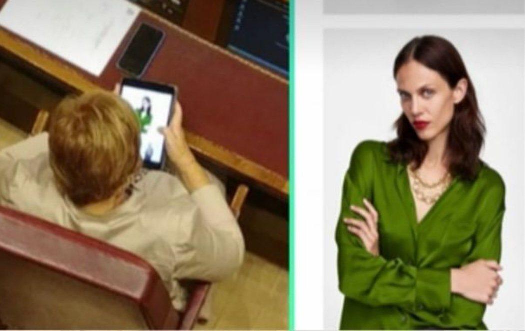 """Celia Villalobos, de compras online en plena sesión del Congreso: """"Hago lo que me da la gana"""""""