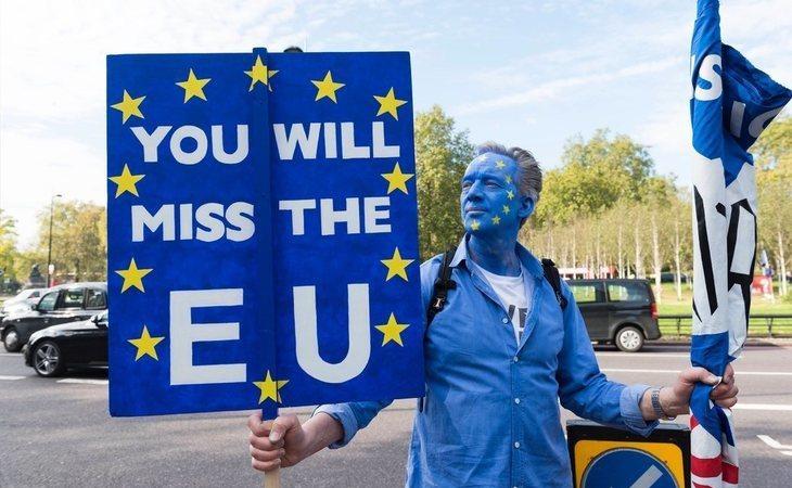 Multitudinaria manifestación en Londres para mantener a Reino Unido dentro de la UE