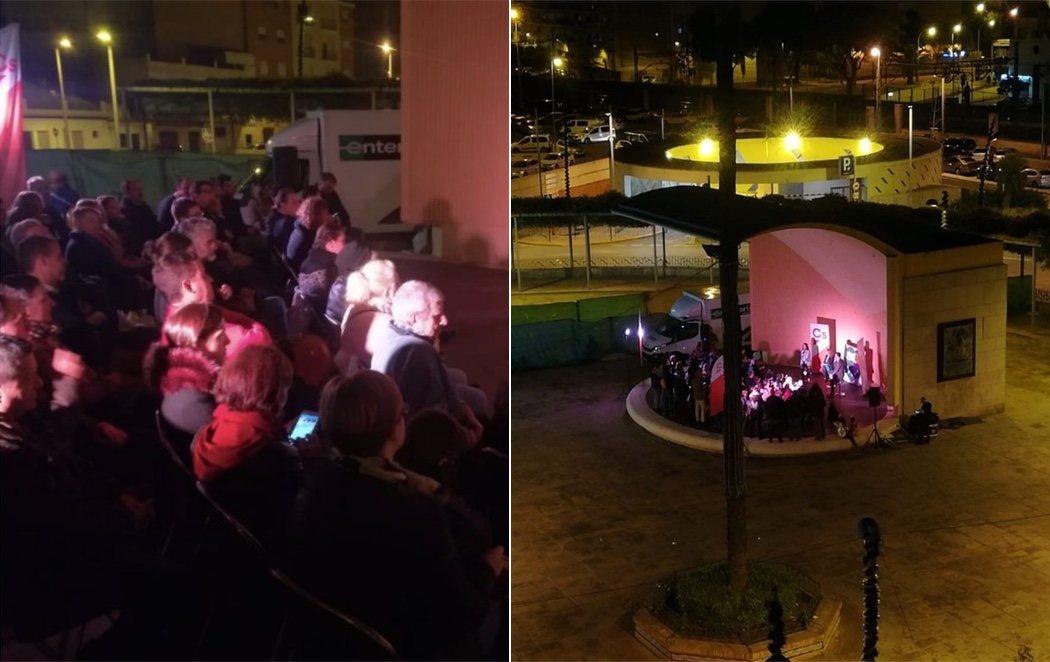 Ciudadanos manipula una fotografía para aparentar mítines multitudinarios en Andalucía y le pillan