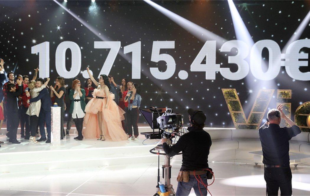 'La Marató' de TV3 hace récord y recauda 10.715430 euros para luchar contra el cáncer