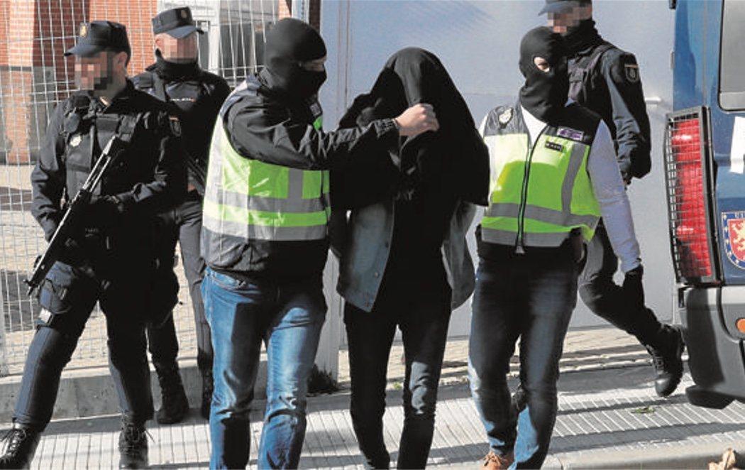 Detenido en Barcelona un presunto yihadista que combatió en Siria