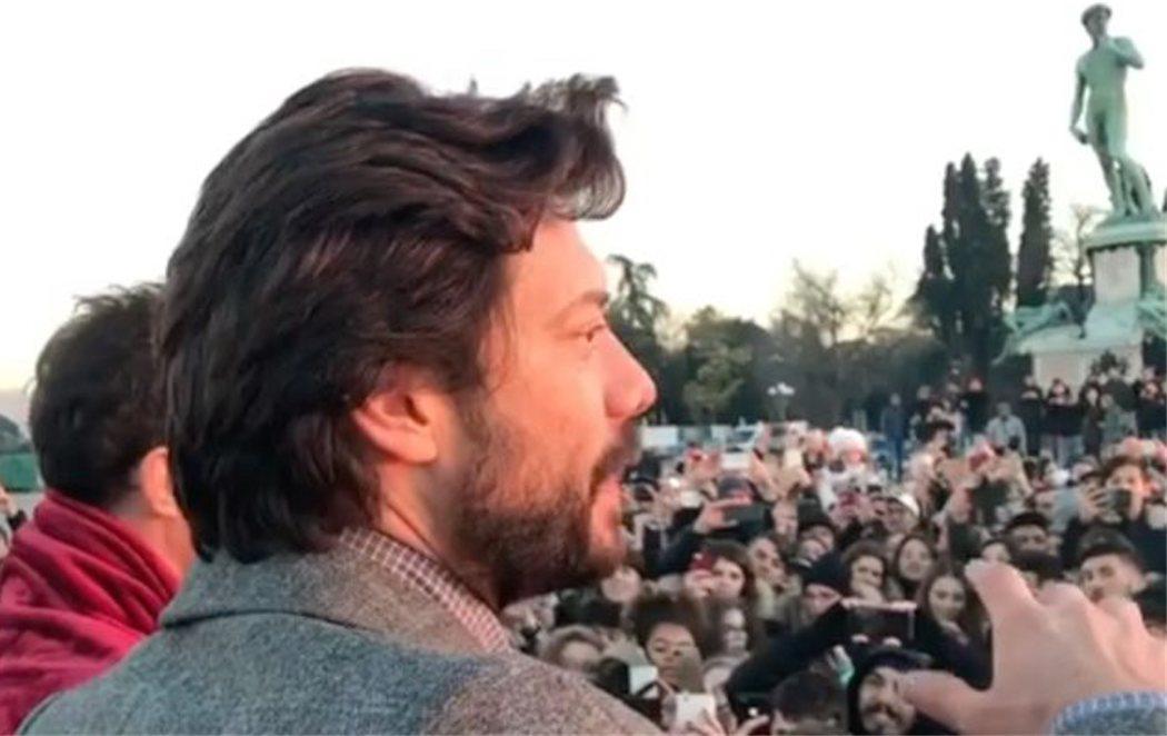'La casa de papel' revoluciona Italia con el rodaje de la tercera temporada
