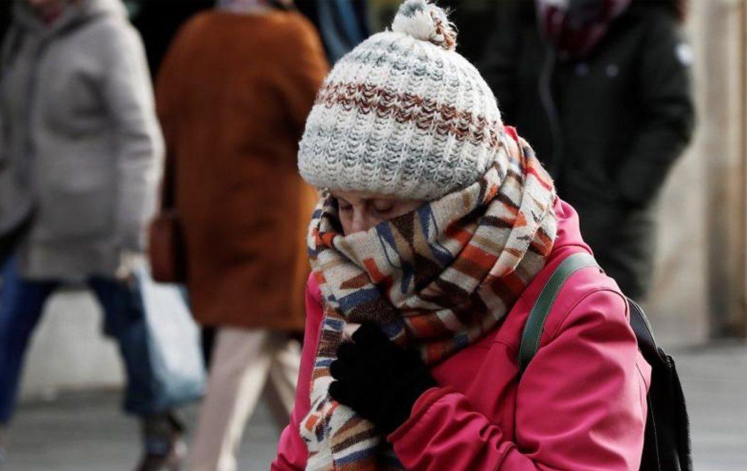 El frío polar hiela a España