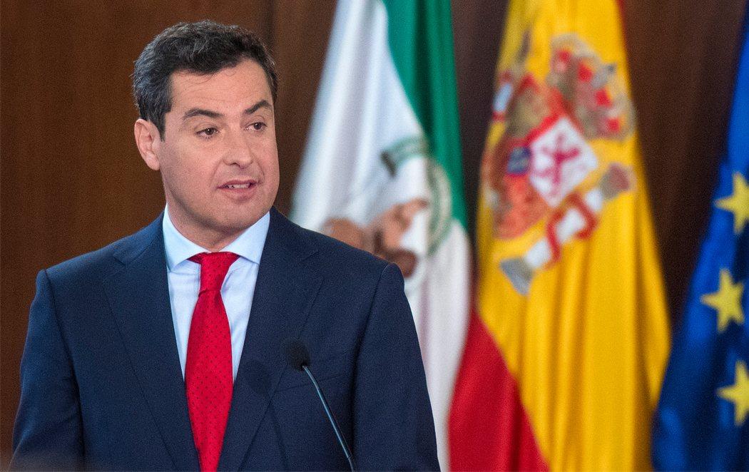 Juanma Moreno Bonilla toma posesión de la Junta de Andalucía